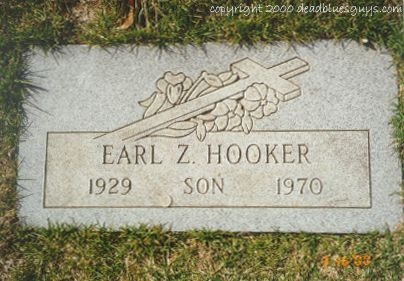 Earl Hooker Headstone - Jody Page - March 2000