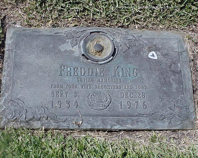 Freddie King 001 - Kelly Brady - August 2002