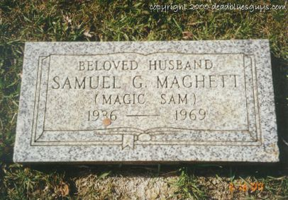 Samuel Maghett Headstone - Jody Page - March 2000